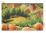 Amish Country - Pumpkin Patch Country Farm Landscape Carry-all Pouch