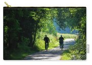 Amish Couple On Bicycles Carry-all Pouch