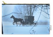 Amish Dreamscape Carry-all Pouch by David Arment
