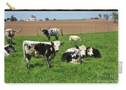 Amish Farm With Spotted Cows And Cattle In A Field Carry-all Pouch