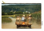 Amish Farmer Three Horses Carry-all Pouch