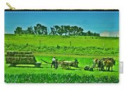 Amish Gathering Hay Carry-all Pouch