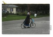 Amish Girl Going To Work Carry-all Pouch