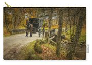 Amish Horse And Buggy Crossing A Bridge Carry-all Pouch