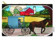 Amish Stained Glass Carry-all Pouch