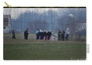 Amish Teens At An Easter Monday Gathering Carry-all Pouch
