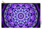 Ammersee Cropcircle Lightmandala Morph Carry-all Pouch by Robert Thalmeier