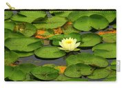 Among The Lily Pads Carry-all Pouch