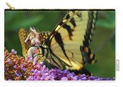 Amorous Butterfly And Faerie Carry-all Pouch