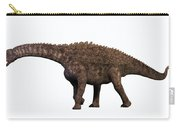 Ampelosaurus On White Carry-all Pouch