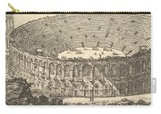 Amphitheater Of Verona Carry-all Pouch