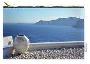 Amphora In Santorini, Greece Carry-all Pouch
