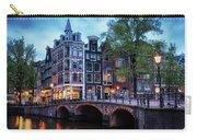 Amsterdam At Twilight Carry-all Pouch