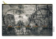 Amsterdam Bicycle Nostalgia Carry-all Pouch