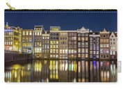 Amsterdam Canal Houses At Night Carry-all Pouch