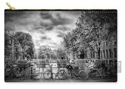 Amsterdam In Monochrome  Carry-all Pouch