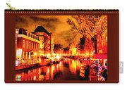 Amsterdam Night Life L A S Carry-all Pouch