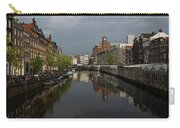 Amsterdam - Singel Canal With The Floating Flower Market Carry-all Pouch