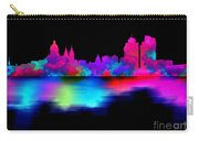 Amsterdam Skyline - Pink Blue Carry-all Pouch