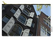 Amsterdam Spring - Arched Windows And Shutters - Right Carry-all Pouch