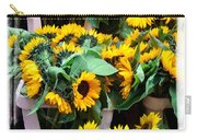 Amsterdam Sunflowers Carry-all Pouch