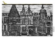 Amsterdam Woodcut Carry-all Pouch
