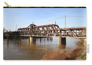 Amtrak California Crossing The Old Sacramento Southern Pacific Train Bridge . 7d11674 Carry-all Pouch