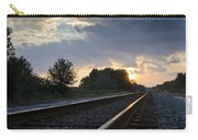 Amtrak Railroad System Carry-all Pouch by Carolyn Marshall