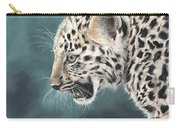 Amur Leopard Cub Carry-all Pouch
