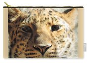 Amur Leopard Stare Carry-all Pouch
