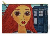 Amy Pond Where's The Doctor Carry-all Pouch