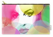 Amy Portrait Pink Yellow  Carry-all Pouch