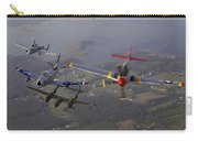An A-10 Thunderbolt, F-86 Sabre, P-38 Carry-all Pouch