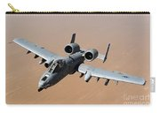 An A-10 Thunderbolt II Over The Skies Carry-all Pouch