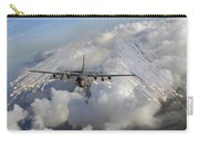 An Ac-130u Gunship Jettisons Flares Carry-all Pouch