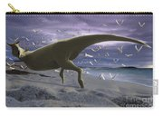 An Albino Carnotaurus Surprising Carry-all Pouch
