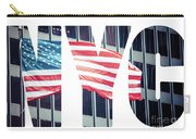 An American Flag In New York. Carry-all Pouch