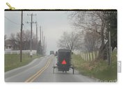 An Amish Buggy In April Carry-all Pouch