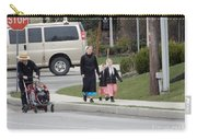 An Amish Family Going For A Walk Carry-all Pouch