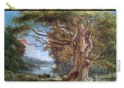An Ancient Beech Tree Carry-all Pouch by Paul Sandby