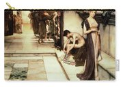 An Apodyterium Carry-all Pouch by Sir Lawrence Alma-Tadema