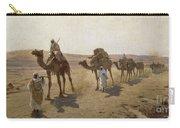 An Arab Caravan Carry-all Pouch