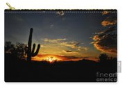 An Arizona Sunrise  Carry-all Pouch