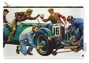 An Aston Martin Racing Car, Vintage 1932 Carry-all Pouch