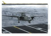 An E-2c Hawkeye Lands Aboard Carry-all Pouch by Stocktrek Images