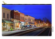 An Early Evening In Ashland Carry-all Pouch