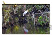 An Egrets World Carry-all Pouch