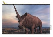 An Elasmotherium Grazing Carry-all Pouch