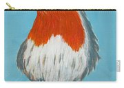 An English Robin Carry-all Pouch