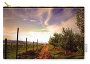 An Evening By The Orchard Carry-all Pouch